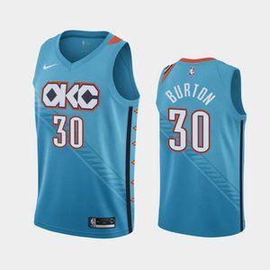 Oklahoma City Thunder Deonte Burton Jersey